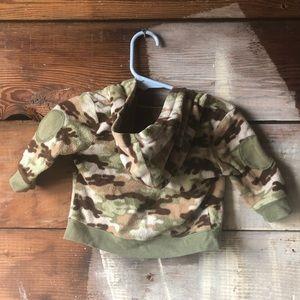Garanimals Jackets & Coats - Garanimals Camouflage Fleece Jacket 0-3 Months